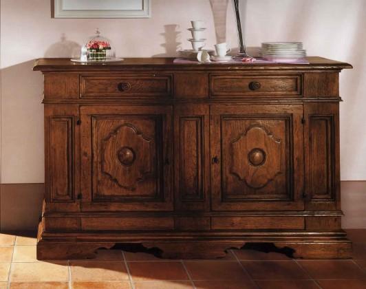 Credenza Legno Rustica : Credenza rustica epoca mobili