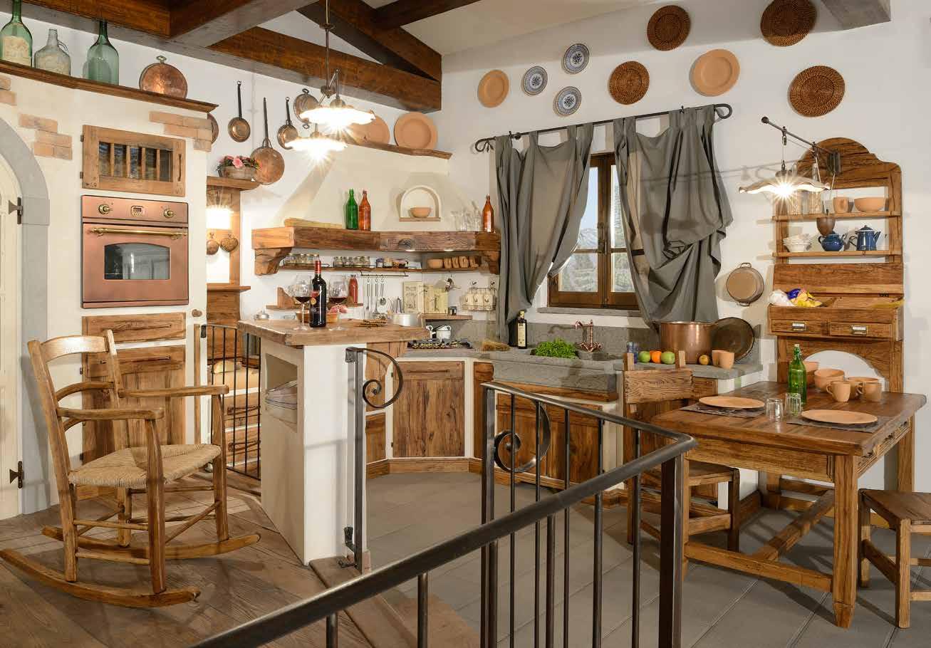 Cucina counrty epoca mobili - Mobili cucina country ...