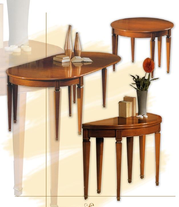 Tavolo consolle mezzaluna epoca mobili for Consolle tavolo